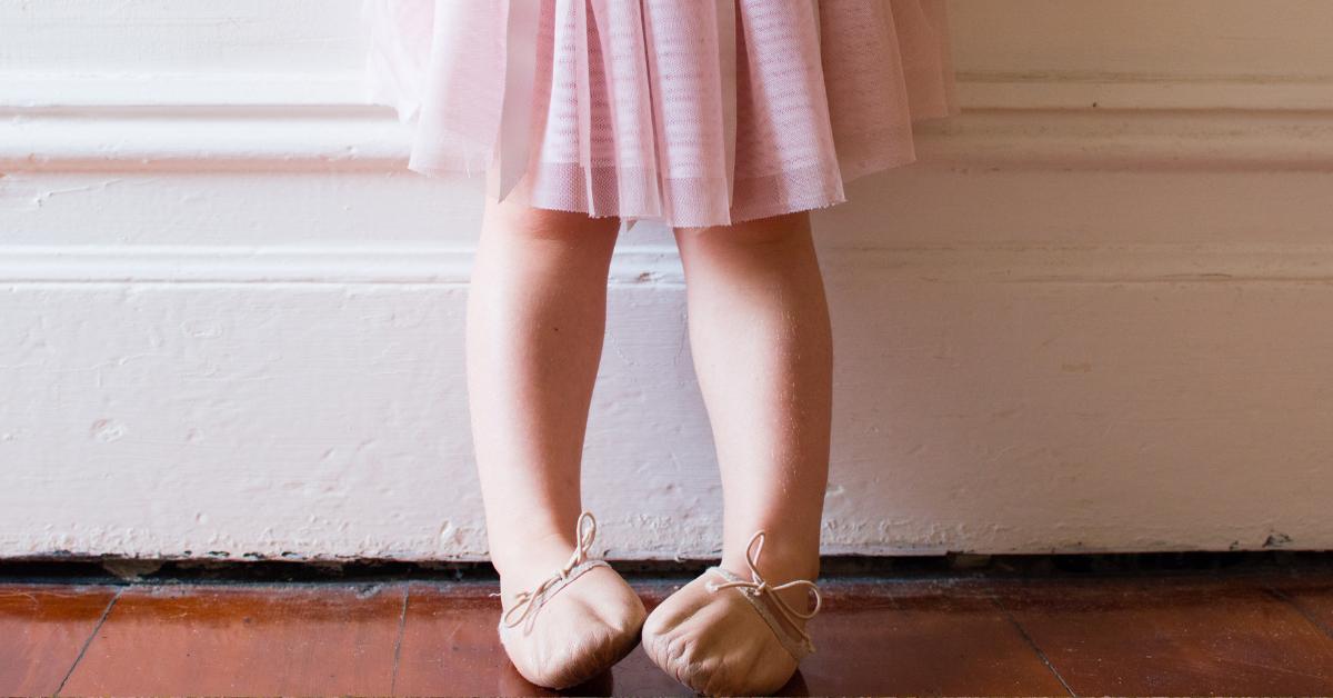 ballet shoes child