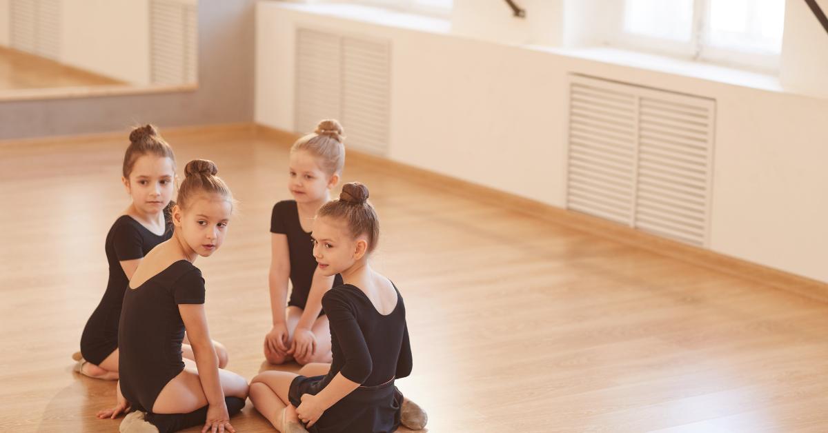 4 Children ballerinas